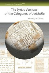 The Syriac Versions of the Categories of Aristotle by Gottheil, Richard J. H.