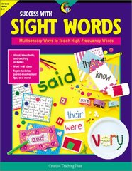 Success With Sight Words: Multisensory Ways to Teach High-Frequency Words by Throop, Sara