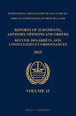 Reports of Judgments, Advisory Opinions and Orders / Recueil Des Arrêts, Avis Consultatifs Et Ordonnances 2015