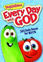 Veggietales Every Day With God: 365 Daily Devos for Boys
