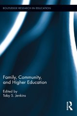 Family, Community, and Higher Education
