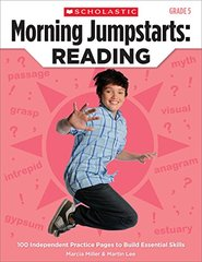 Morning Jumpstarts Reading (Grade 5): 100 Independent Practice Pages to Build Essential Skills