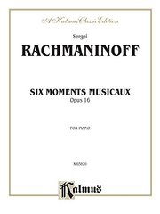 Moments Musicaux, Op. 16
