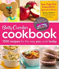 Betty Crocker Cookbook: 1500 Recipes for the Way You Cook Today: Box Tops for Education Special Edition