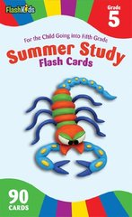 Summer Study Flash Cards: Grade 5: For the Child Going into Fifth Grade