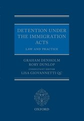 Detention Under the Immigration Acts: Law and Practice