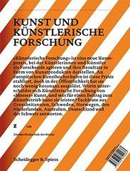 Kunst und Kunstlerische Forschung / Art and Artistic Research