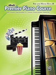 Premier Piano Course Pop and Movie Hits: Book 2b