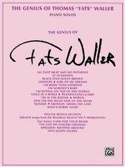 The Genius of Fats Waller: Piano Solos