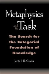 Metaphysics and Its Task: The Search for the Categorical Foundation of Knowledge