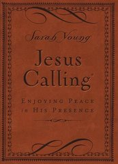 Jesus Calling: Enjoying Peace in His Presence, Brown Cover