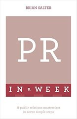 Teach Yourself PR in a Week