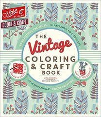 The Vintage Coloring & Craft Book