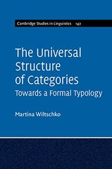 The Universal Structure of Categories: Towards a Formal Typology