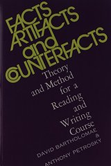 Facts, Artifacts and Counterfacts: Theory and Method for a Reading and Writing Course