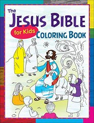 The Jesus Bible for Kids Coloring Book