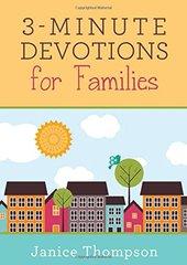 3-Minute Devotions for Families