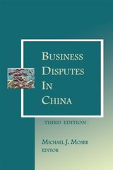 Business Disputes in China