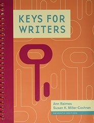 Keys for Writers: With 2016 Mla Update Card
