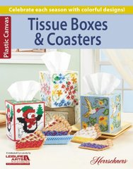 Tissue Boxes & Coasters PC Herrschners