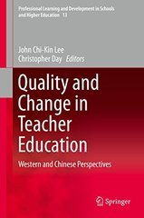 Quality and Change in Teacher Education: Western and Chinese Perspectives
