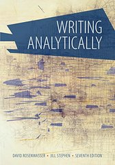 Writing Analytically + Overview Updates from the MLA Handbook