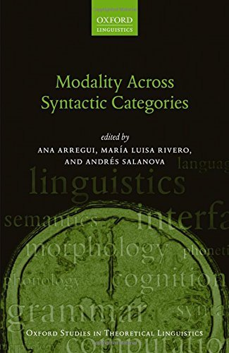 Modality Across Syntactic Categories