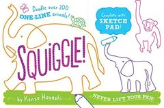 Squiggle!: Doodle over 200 One-line Animals!