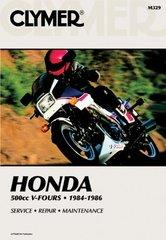 Clymer Honda 500cc V-Fours - 1984-1985 Service, Repair, Maintenance