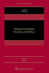 Estate Planning: Principles and Problems