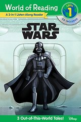 World of Reading: Star Wars Star Wars 3-in-1 Listen-Along Reader (World of Reading Level 1): 3 Tales of Adventure with CD!