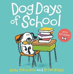 Dog Days of School [8x8 with stickers]