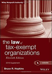 The Law of Tax-Exempt Organizations 2016