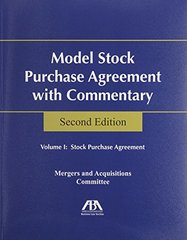 Model Stock Purchase Agreement With Commentary