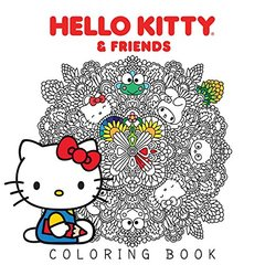 """The Official Hello Kitty Coloring Book: """""""""""