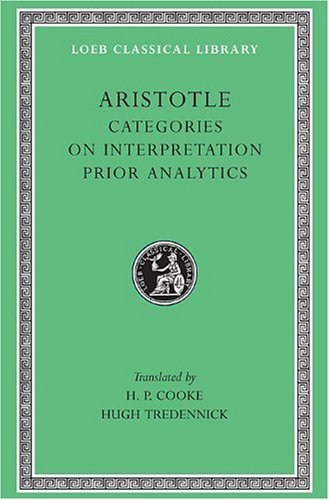 Aristotle: The Categories on Interpretation
