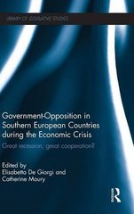 Government-Opposition in Southern European Countries During the Financial Crisis: Great Recession, Great Cooperation?