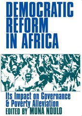 Democratic Reform in Africa: The Impact on Governance & Poverty Alleviation