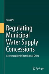 Regulating Municipal Water Supply Concessions: Accountability in Transitional China