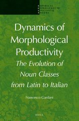 Dynamics of Morphological Productivity: The Evolution of Noun Classes from Latin to Italian