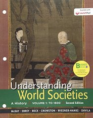 Understanding World Societies: To 1600: a History