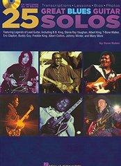 25 Great Blues Guitar Solos: Transcriptions - Lessons - Bios - Photos
