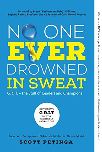 No One Ever Drowned in Sweat: G.r.i.t. - the Stuff of Leaders and Champions