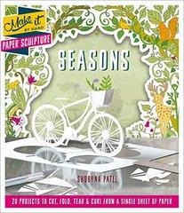 Paper Sculpture Seasons