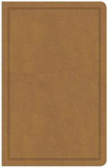 Holy Bible: Csb Deluxe Gift Bible, Tan