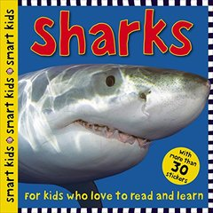 Sharks: With More Than 30 Stickers