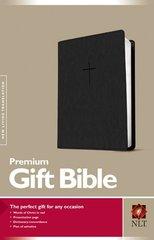 Holy Bible: New Living Translation, Black Leatherlike, Premium Gift Bible