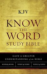 Know the Word Study Bible: King James Version, Know the Word Study Bible, Red Letter Edition