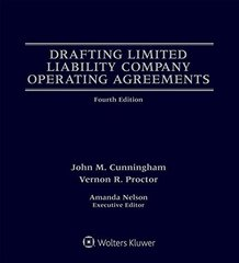 Drafting Limited Liability Company Operating Agreements