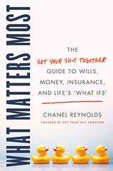 What Matters Most: The Get Your Sh*t Together Guide to Wills, Money, Insurance, and Life's What-Ifs